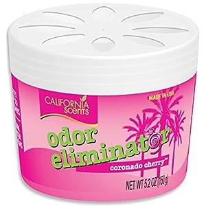 California Scents Odor Eliminator, Coronado Cherry, 5.2-Ounce Jars (Pack of 12) by California Scents