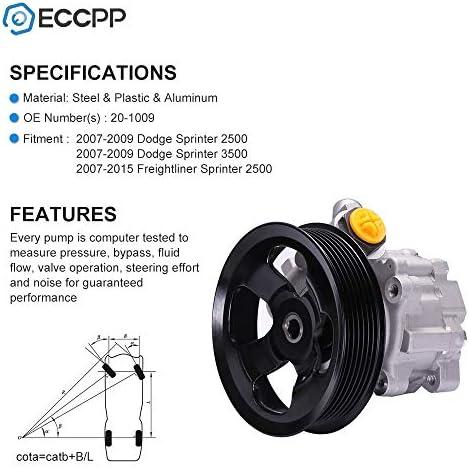 , Freightliner Sprinter 2500, Sprinter 3500 Dodge Sprinter 2500,Sprinter 3500 DRIVESTAR 20-1009 Brand New OE-Quality Power Steering Pump for Selected , Mercedes Benz Sprinter 2500, Sprinter 3500