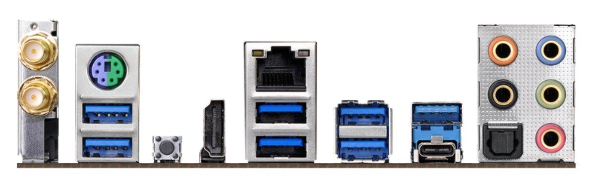 schwarz ASRock 90-MXB7J0-A0UAYZ Mainboard AM4 AM4