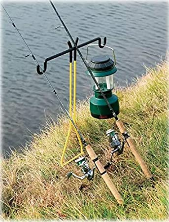 Spiral Rod Holder Holds Your Fishing Rod//Reel at the Optimum Angle