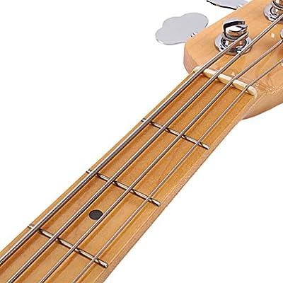 4-in-1 Saiten-Set für Bass aus Edelstahl