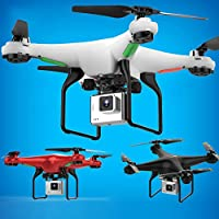 Nacome RC Quadcopter, 2.4GHz 6 Axis Selfie Drone 720P WiFi FPV Wide Angle HD Camera Quadcopter Toy
