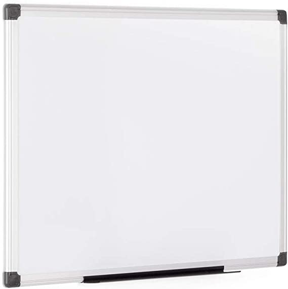 Weisswandtafel 100 x 50 cm aufklappbar 200 x 50 cm Whiteboard Pinnwand Magnet