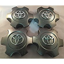 "Gosweet 4X Brand NEW Four Pieces Set of 2003-2006 Toyota Tundra Wheel Hub Caps Centre Cover 2003-2007 Toyota Sequoia 17"" CHARCOAL Grey Color Hollander # 560-69440 US Fast Shipment"