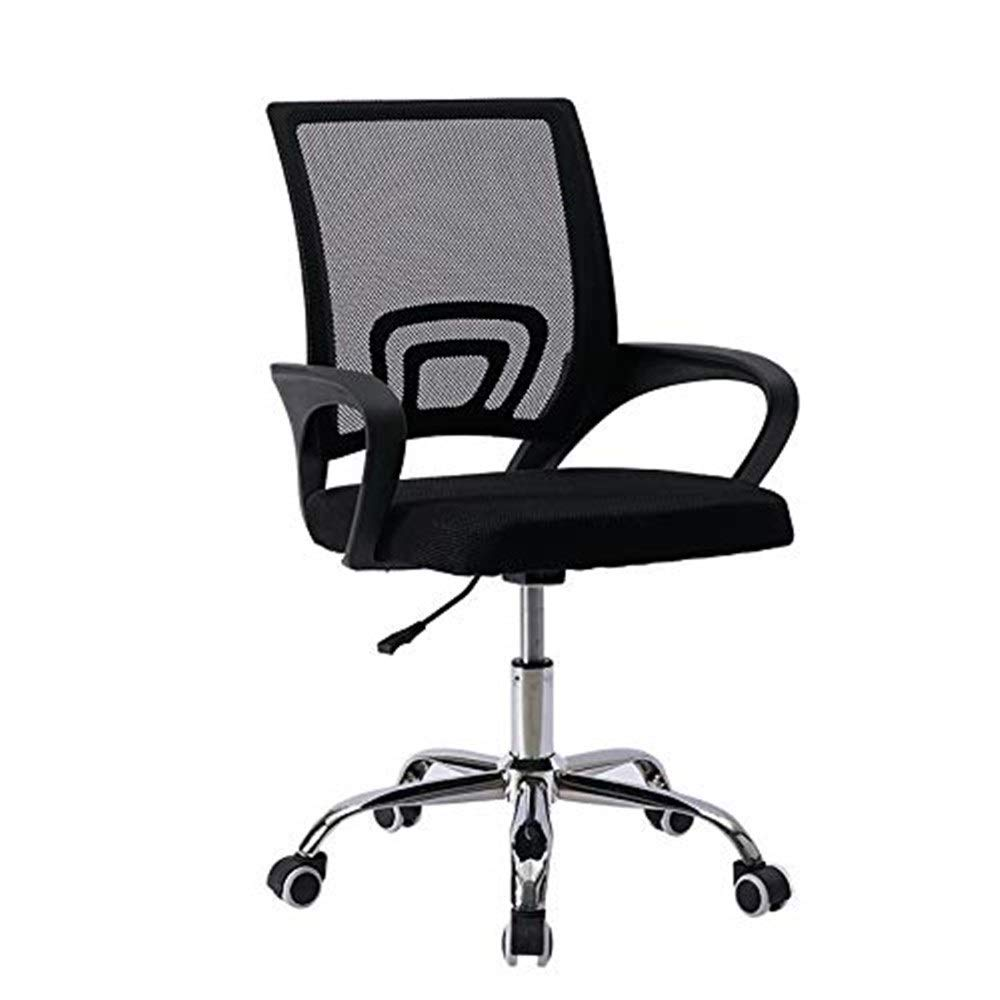 Hxnyz Office Chair Computer Chair mesh Swivel Chair Office Chair Staff Chair Conference Chair Breathable Casual Adjustable high and Low Wooden Chair