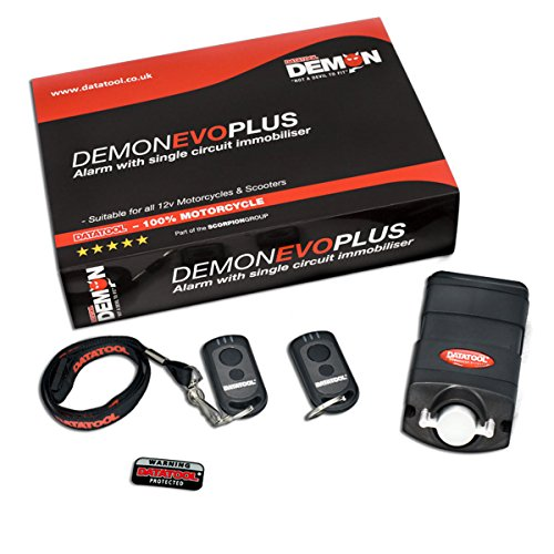 Datatool Evo Plus Motorcycle Alarm Immobiliser