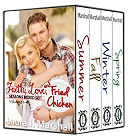 Faith, Love, and Fried Chicken: Seasons Boxed Set Bundle 1-4 by [Marshall, Laura J.]