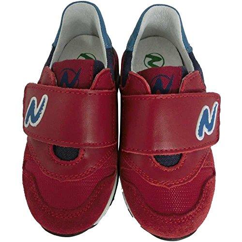 Naturino - Zapatillas para niño violeta burdeos 23