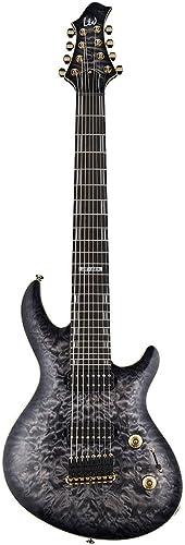 ESP Artist Series LJR608QMFBSB 8-String Solid-Body Electric Guitar
