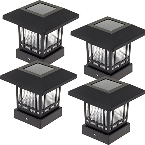 Post Mount Solar Light