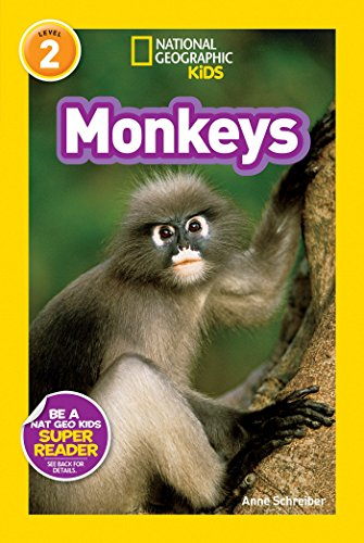 National Geographic Readers: Monkeys by National Geographic Children's Books