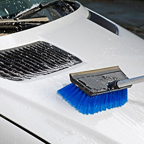 Unger Professional HydroPower Soft Brush with Squeegee, 10''