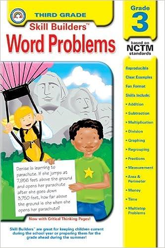 Amazon.com: Word Problems, Grade 3 (Skill Builders ...