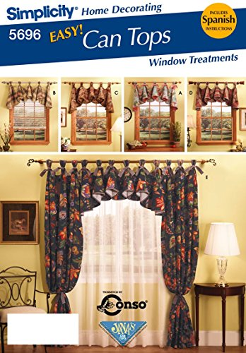 Simplicity Pattern 5696 EASY Can Tops Window Treatments for sale  Delivered anywhere in USA