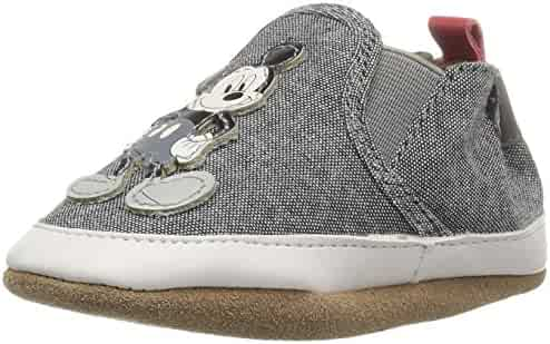 Robeez Kids' Old School Mickey Crib Shoe