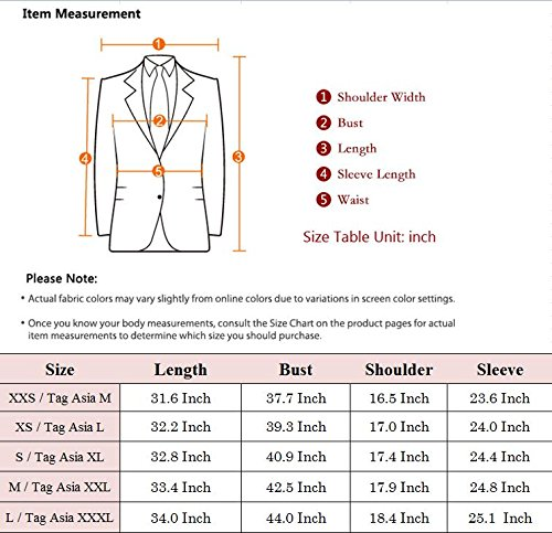 Men's Warm Wool Trench Coat Long Fashion Slim Fit Winter Overcoat Single Breasted (X-Small, Black) by JEWOSOR (Image #3)