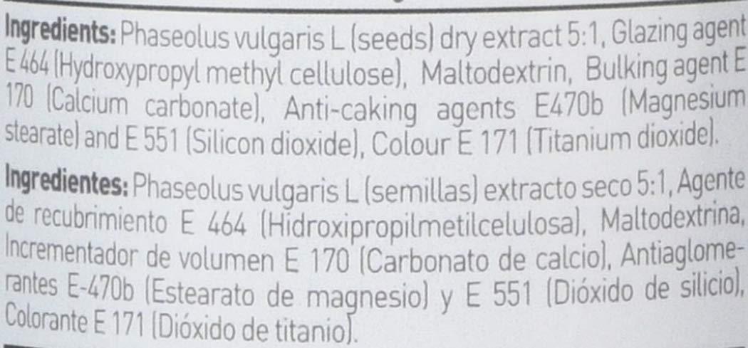 Extracto de Alubia Blanca de HSN Essentials- 500mg - Bloqueador de Carbohidratos y de grasas, Adelgaza de forma rápida y efectiva, Carb blocker - 120 ...