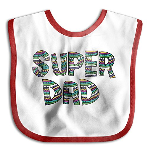 Telefloras Ring (Funny Father's Day Spoof Super DadWaterproof Bibs The Baby Bibscute)