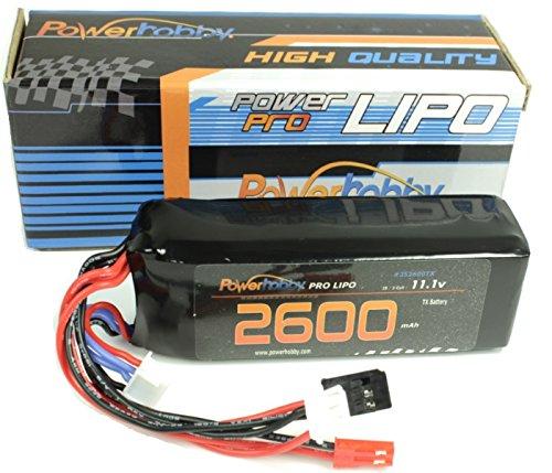 Powerhobby 3s 2600mah Frsky Taranis X9D / X9D+ Plus Radio / Transmitter Controller UPGRADE Lipo Battery
