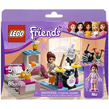 b5f5ec0678c Amazon.com  LEGO Friends 3939 Mia s Bedroom  Toys   Games