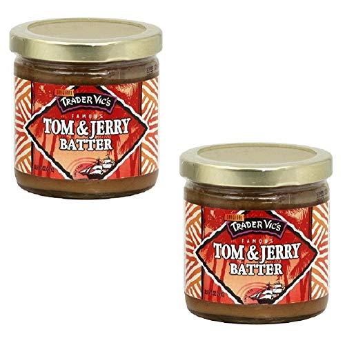 Trader Vic's Tom & Jerry Original Batter Mix 8.5 Oz Jar (Pack of 2) ()