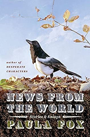 book cover of News from the World