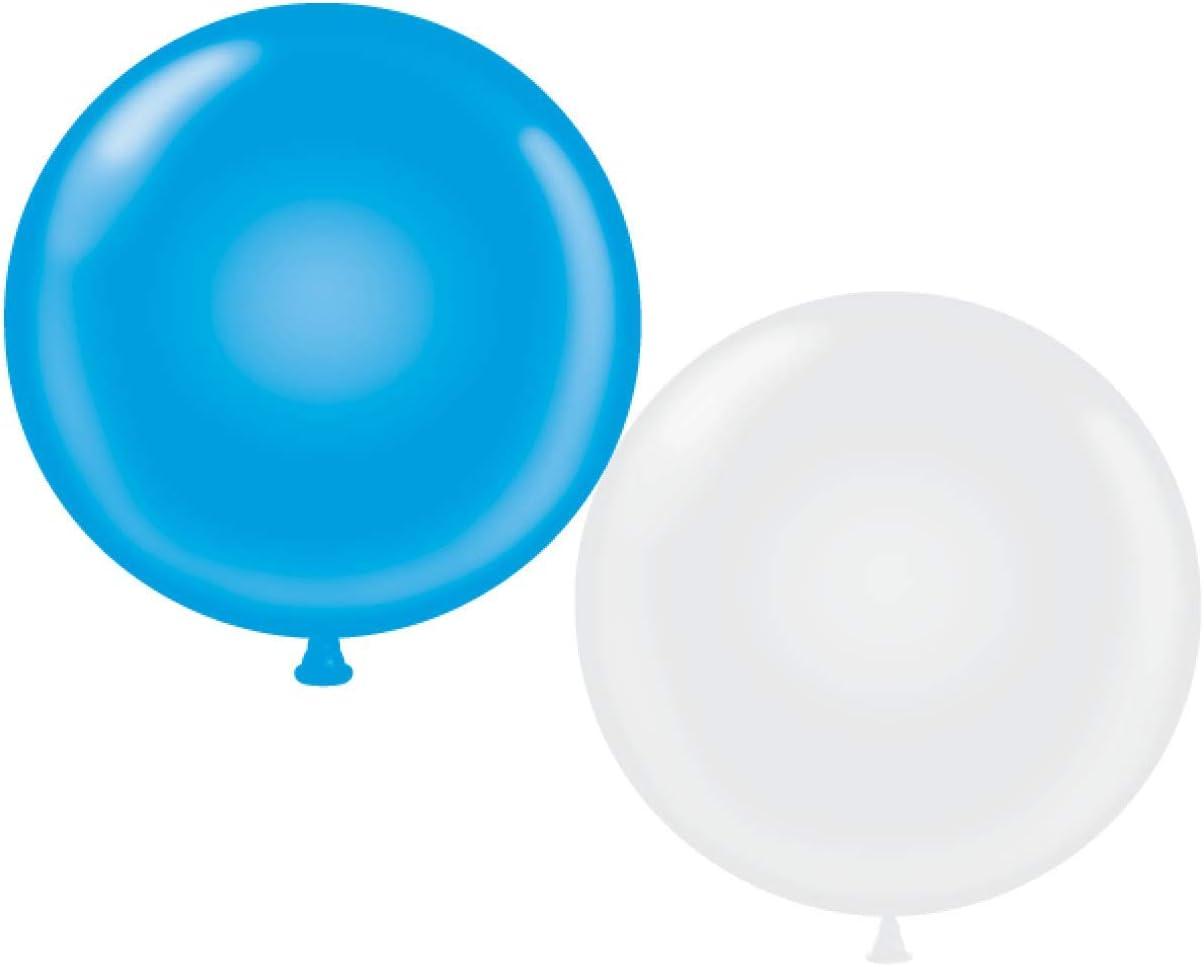 72 inch Blue Giant Latex Balloon Qty 1