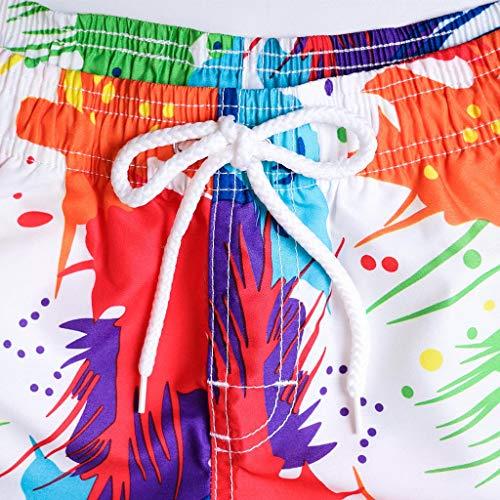 Simayixx Women Shorts Plus Size, Womens Teens Board Pants Adjustable Bikini Lace Swim Short Beach Swimwear Trunks Bottoms by Simayixx (Image #2)