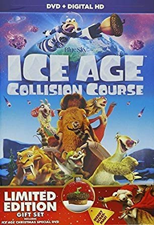 (Ice Age: Collision Course (DVD) + Ice Age Mammoth Christmas (DVD) Special 2 Pack)