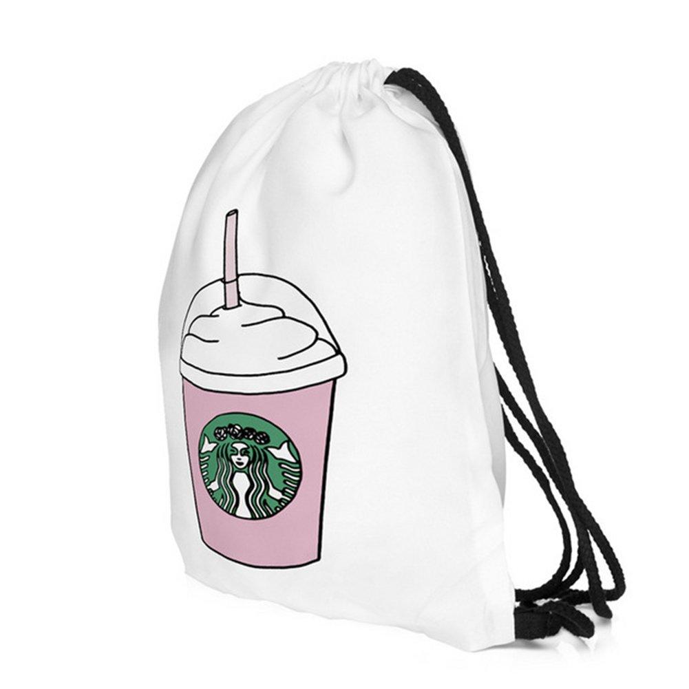 drama/_llama Ababalaya 3D Print Drawstring Backpack Rucksack Shoulder Bags Gym Bag