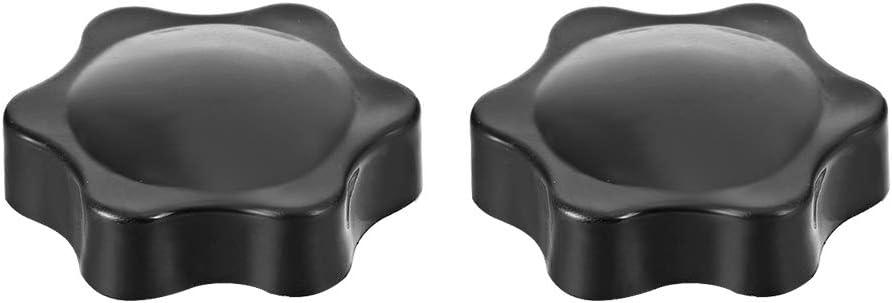 Klemmhandgriff Handgriffe Schraube Sternknopf M10 /× 9mm Innengewinde sourcing map 2stk