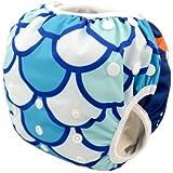 Eco Green Baby - Big Toddler - Swim Diaper - Mermaid