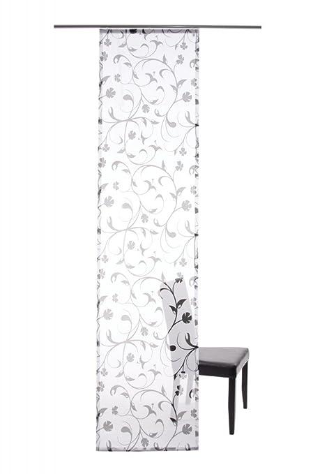 Lars Contzen Jardin Des Plantes Panel Curtain Colour Transparent Black Indes Fuggerhaus Amazoncouk Kitchen Home