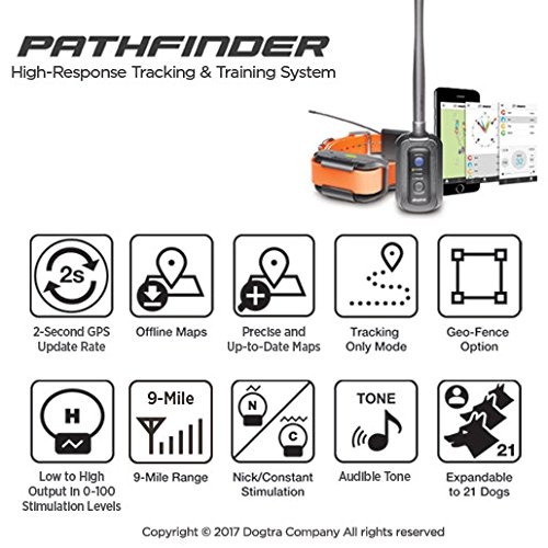 Dogtra Pathfinder High-Response Tracking & Training System, Black, One Size by Dogtra (Image #5)