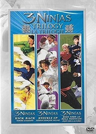Amazon.com: 3 Ninjas Set (3 Ninjas Kick Back/3 Ninjas: High ...