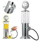 gas pump alcohol dispenser - YaeBrew Gas Pump Liquor Dispenser - Gun Barware Mini Beer Pourer Water Liquid Bar Drinking Alcohol Dispenser Wine Pump Dispenser Machine - Whiskey / Bourbon Decanter (Single Gun)