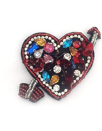 1pcs flecha en el corazón de los sellos para los granos de la perla del  Rhinestone 23e39742cd0