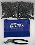 400 5/32 Extra Short Cleco Fasteners + Cleco Pliers w/ Carry Bag (KK1S400-5/32)