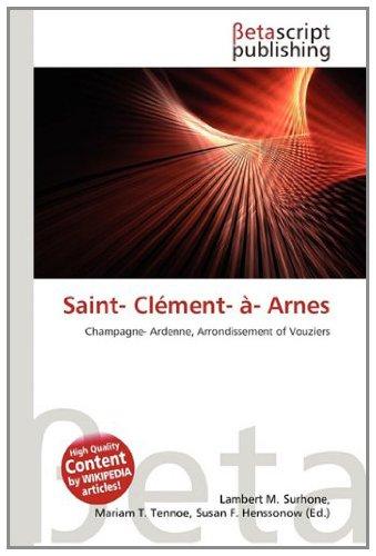 Saint- CL Ment- - Arnes: Amazon.es: Surhone, Lambert M, Tennoe ...