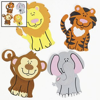 Zoo Animal Crafts For Kids - 7