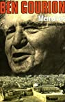 Mémoires : Israël avant Israël par Ben Gourion