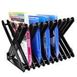 xbox 360 storage tower - AZFUNN Xbox Game Holder, Nestable Game CD Holder Compact Game Tower, Folding Disc Storage Stand Bracket Holder CD/ DVD Storage Rack for PS4, PS4 Pro, Xbox one, Xbox 360, DVDs, PS4 and Xbox Video Games