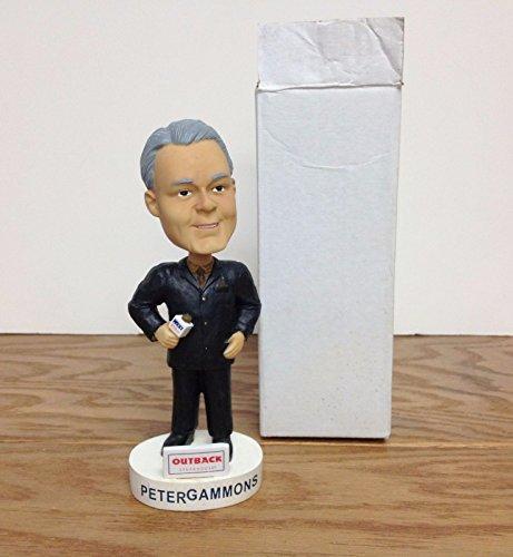 (Peter Gammons 2004 Lowell Spinners Stadium Promo Bobblehead SGA in original box )