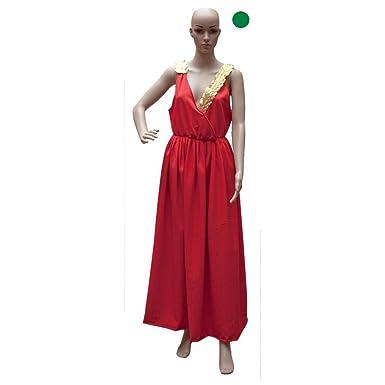 Disfraces FCR - Disfraz de romana adulto verde: Amazon.es: Ropa y ...
