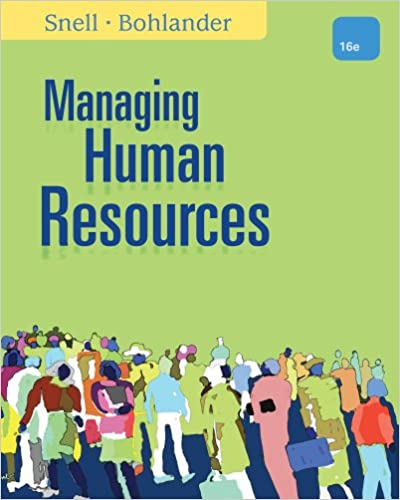 Amazon managing human resources 9781305258358 scott a snell managing human resources 16th edition fandeluxe Gallery