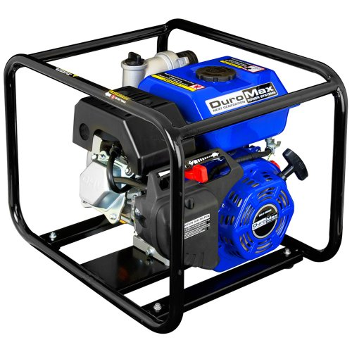 DuroMax XP904WP 4-Inch Intake 9 HP OHV 4-Cycle 427 GPM Gas Powered Portable Water Pump by DuroMax