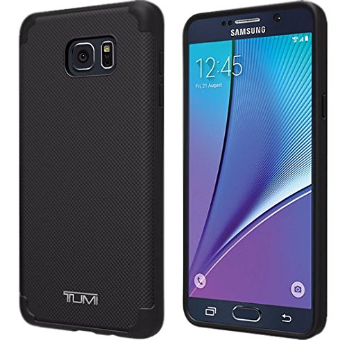 Price comparison product image Tumi Astor Case for Samsung Galaxy Note 5 - Gray Coated Canvas