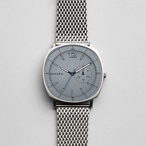 Skagen-Mens-SKW6255-Rungsted-Stainless-Steel-Mesh-Watch