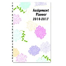 House of Doolittle 2016-2017 Weekly Academic Planner Assignment Book, Floral, 5x8-Inch (HOD274RTG70-17)