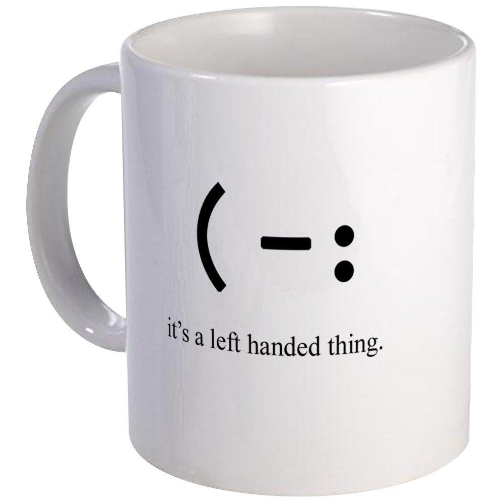 1e2b9142143 Amazon.com: CafePress - Left Handed Mug - Unique Coffee Mug, Coffee Cup:  Kitchen & Dining